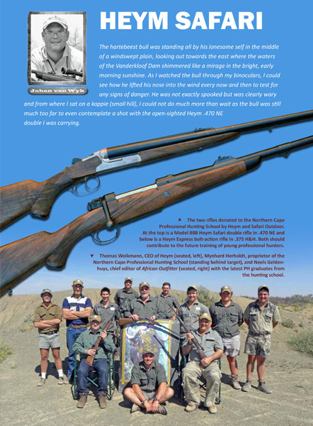 - Review HEYM 88B Double Rifle<br>